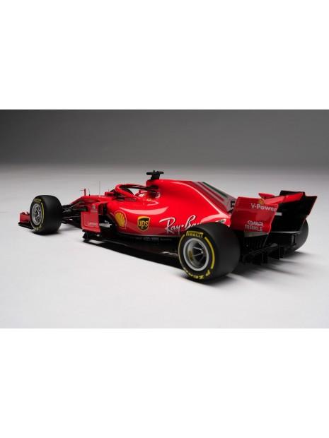 Formula 1 Ferrari SF71H - Sebastian Vettel - 1/18 Amalgam Amalgam - 1