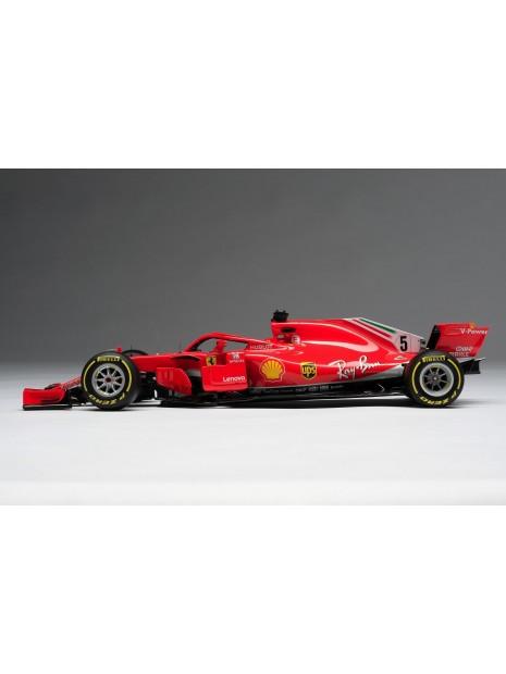 Formula 1 Ferrari SF71H - Sebastian Vettel - 1/18 Amalgam Amalgam - 5