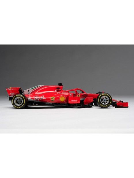 Formula 1 Ferrari SF71H - Sebastian Vettel - 1/18 Amalgam Amalgam - 6