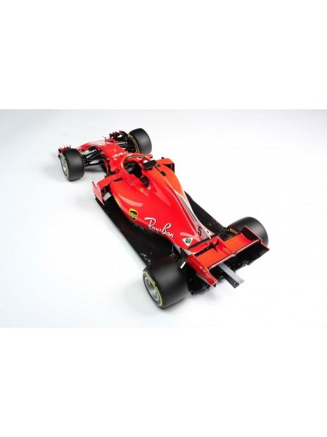 Formula 1 Ferrari SF71H - Sebastian Vettel - 1/18 Amalgam Amalgam - 8