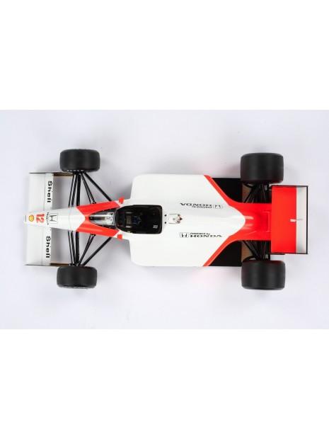 Formule 1 McLaren MP4/4 - GP du Japon 1988 - 1/18 Amalgam Amalgam - 10