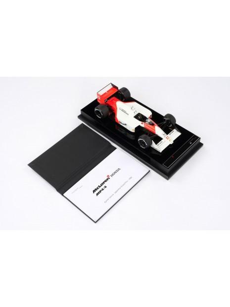 Formula 1 McLaren MP4/4 - GP Japan 1988 - 1/18 Amalgam Amalgam - 15