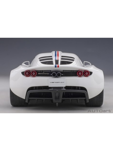 "Hennessey Venom GT Spyder ""World Fastest Edition"" 1/18 AUTOart AUTOart - 8"
