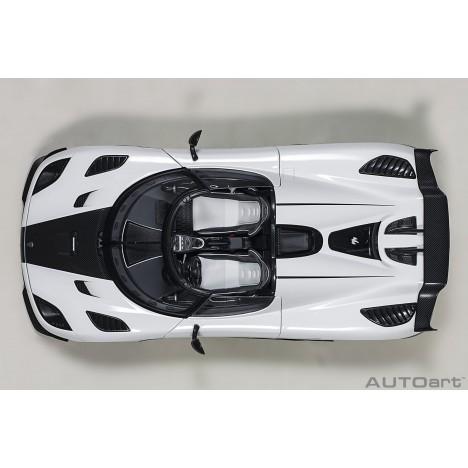 Lamborghini Huracan Evo 1:18 white MR Collection