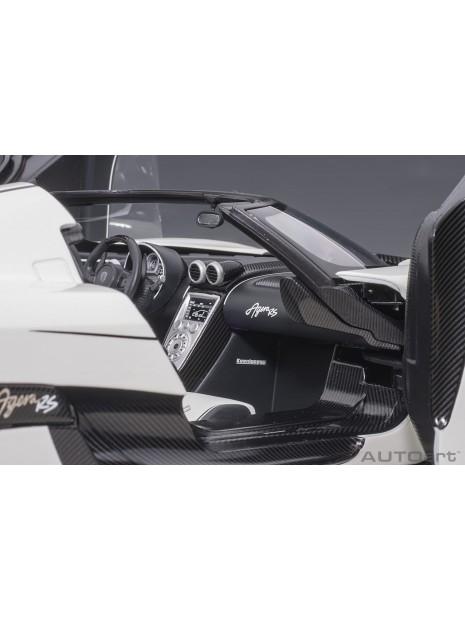 Koenigsegg Agera RS (Blanc Arctic) 1/18 AUTOart AUTOart - 15