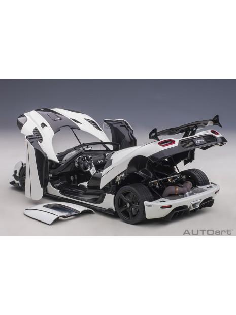 Koenigsegg Agera RS (White) 1/18 AUTOart AUTOart - 20