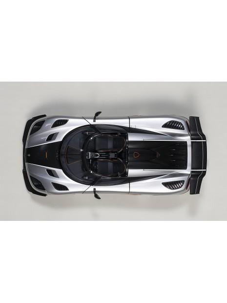 Koenigsegg One:1 (gris) 1/18 AUTOart AUTOart - 11