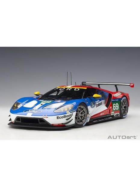 Ford GT Le Mans 2016 Brisoe/Dixon/Westbrook n°69 1/18 AUTOart AUTOart - 1
