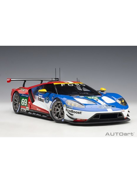 Ford GT Le Mans 2016 Brisoe/Dixon/Westbrook n°69 1/18 AUTOart AUTOart - 2