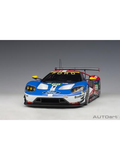 Ford GT Le Mans 2016 Brisoe/Dixon/Westbrook n°69 1/18 AUTOart AUTOart - 3