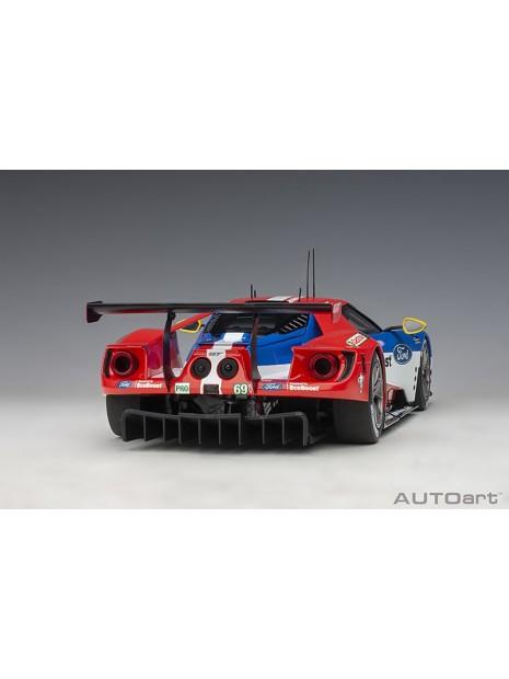 Ford GT Le Mans 2016 Brisoe/Dixon/Westbrook n°69 1/18 AUTOart AUTOart - 4