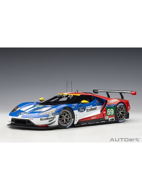 Ford GT Le Mans 2016 Brisoe/Dixon/Westbrook n°69 1/18 AUTOart AUTOart - 5