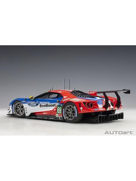 Ford GT Le Mans 2016 Brisoe/Dixon/Westbrook n°69 1/18 AUTOart AUTOart - 6