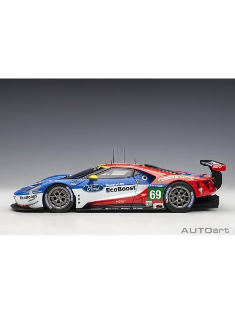 Ford GT Le Mans 2016 Brisoe/Dixon/Westbrook n°69 1/18 AUTOart AUTOart - 7