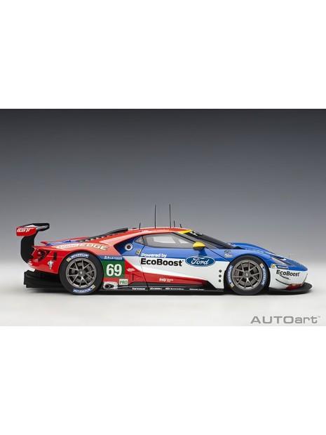 Ford GT Le Mans 2016 Brisoe/Dixon/Westbrook n°69 1/18 AUTOart AUTOart - 8