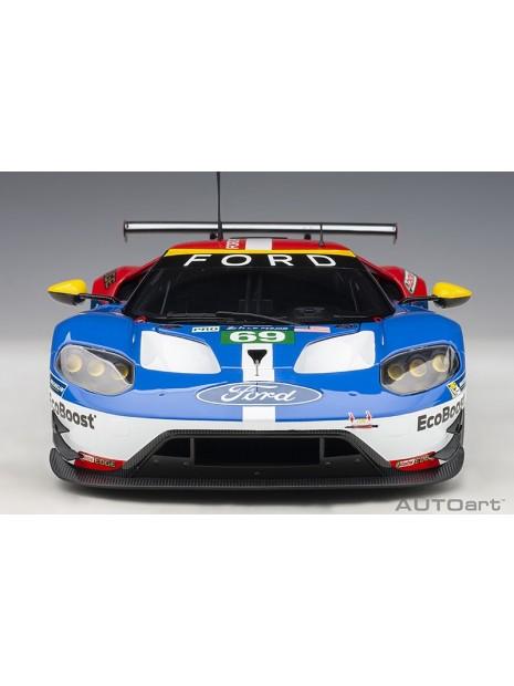 Ford GT Le Mans 2016 Brisoe/Dixon/Westbrook n°69 1/18 AUTOart AUTOart - 9