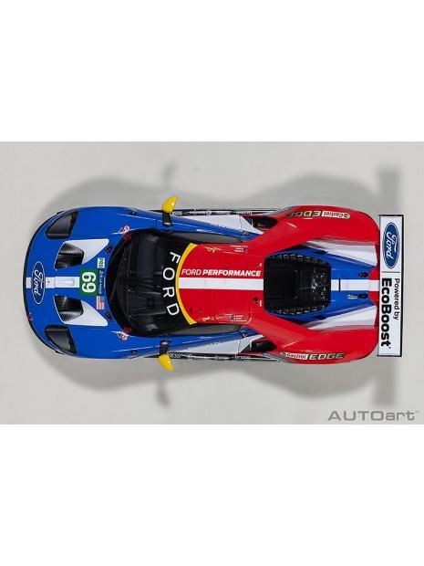 Ford GT Le Mans 2016 Brisoe/Dixon/Westbrook n°69 1/18 AUTOart AUTOart - 11
