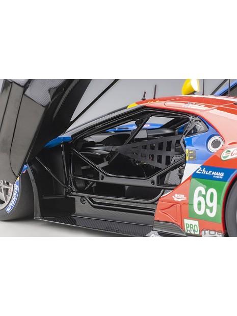 Ford GT Le Mans 2016 Brisoe/Dixon/Westbrook n°69 1/18 AUTOart AUTOart - 12