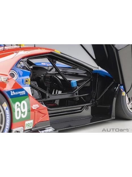 Ford GT Le Mans 2016 Brisoe/Dixon/Westbrook n°69 1/18 AUTOart AUTOart - 13