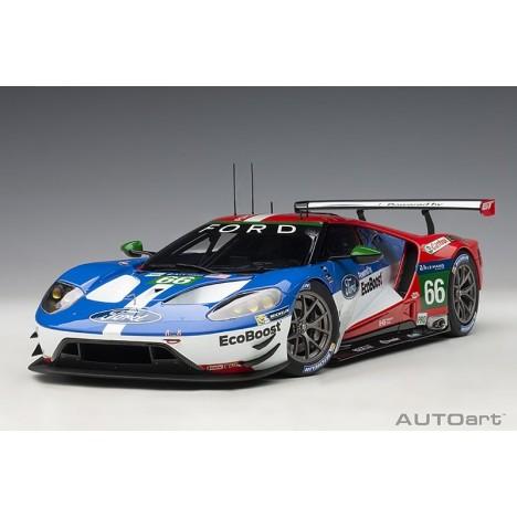 Ford GT Le Mans 2016 Johnson/Mucke/Pla n°66 1/18 AUTOart AUTOart - 1