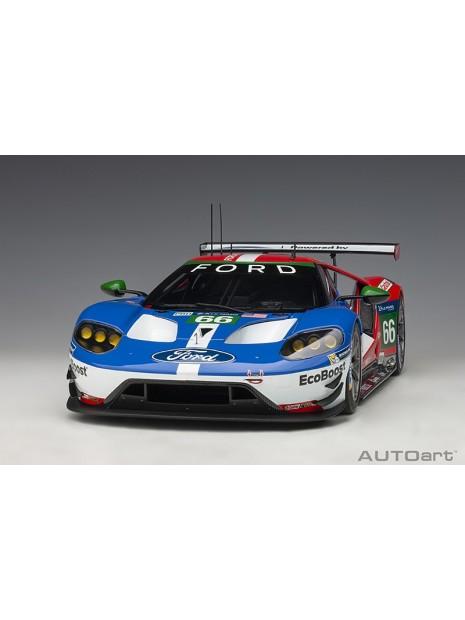 Ford GT Le Mans 2016 Johnson/Mucke/Pla n°66 1/18 AUTOart AUTOart - 3
