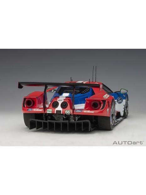 Ford GT Le Mans 2016 Johnson/Mucke/Pla n°66 1/18 AUTOart AUTOart - 4