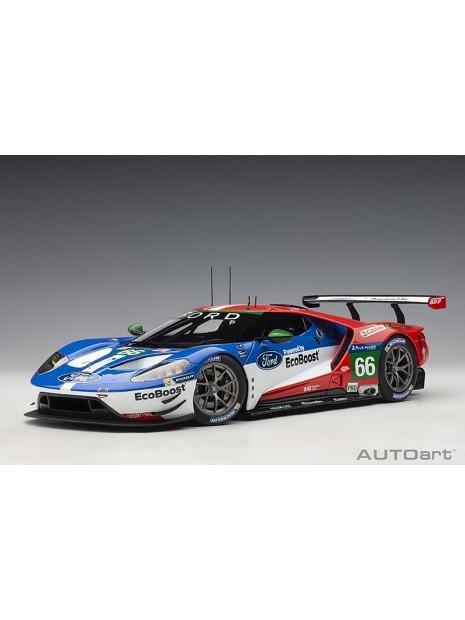Ford GT Le Mans 2016 Johnson/Mucke/Pla n°66 1/18 AUTOart AUTOart - 5
