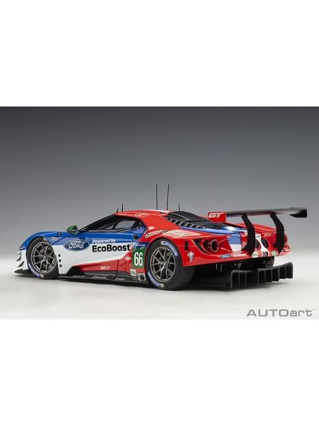 Ford GT Le Mans 2016 Johnson/Mucke/Pla n°66 1/18 AUTOart AUTOart - 6