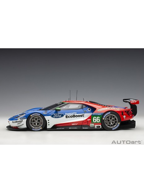 Ford GT Le Mans 2016 Johnson/Mucke/Pla n°66 1/18 AUTOart AUTOart - 7