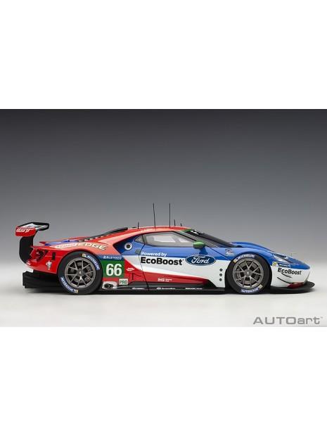 Ford GT Le Mans 2016 Johnson/Mucke/Pla n°66 1/18 AUTOart AUTOart - 8