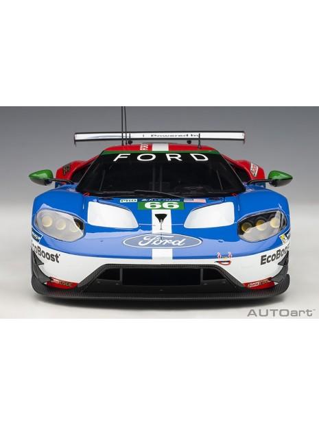 Ford GT Le Mans 2016 Johnson/Mucke/Pla n°66 1/18 AUTOart AUTOart - 9