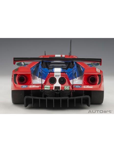 Ford GT Le Mans 2016 Johnson/Mucke/Pla n°66 1/18 AUTOart AUTOart - 10