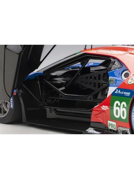 Ford GT Le Mans 2016 Johnson/Mucke/Pla n°66 1/18 AUTOart AUTOart - 12