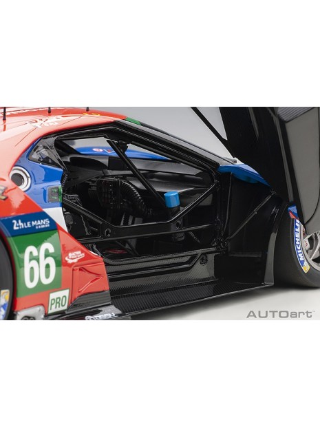 Ford GT Le Mans 2016 Johnson/Mucke/Pla n°66 1/18 AUTOart AUTOart - 13