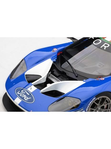 Ford GT Le Mans 2016 Johnson/Mucke/Pla n°66 1/18 AUTOart AUTOart - 14