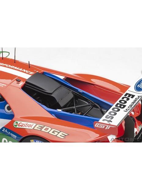 Ford GT Le Mans 2016 Johnson/Mucke/Pla n°66 1/18 AUTOart AUTOart - 15