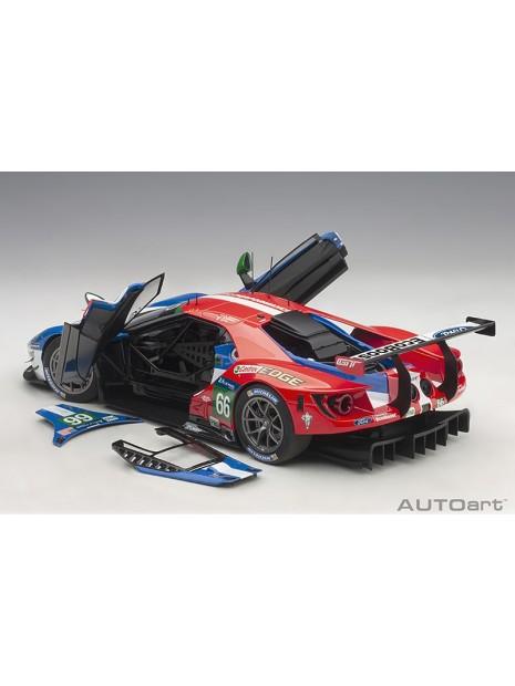 Ford GT Le Mans 2016 Johnson/Mucke/Pla n°66 1/18 AUTOart AUTOart - 16