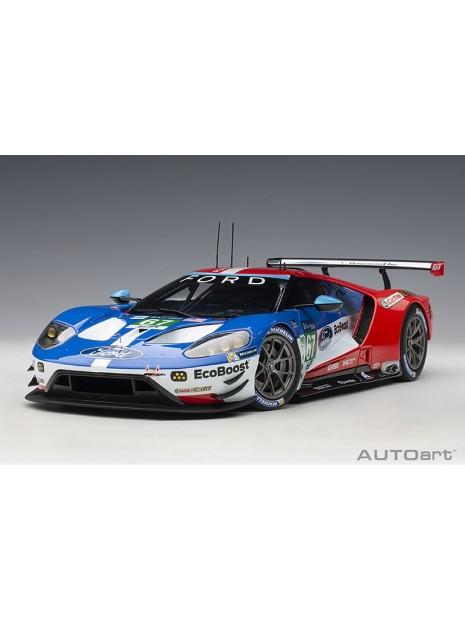 Ford GT Le Mans 2017 Derani/Priaulx/Tincknell n°67 1/18 AUTOart AUTOart - 1