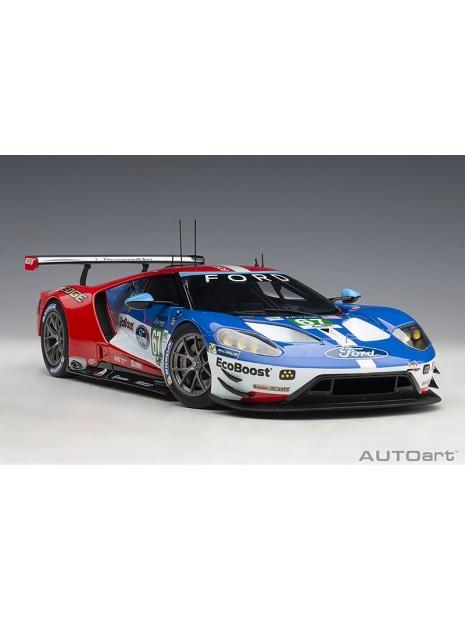 Ford GT Le Mans 2017 Derani/Priaulx/Tincknell n°67 1/18 AUTOart AUTOart - 2