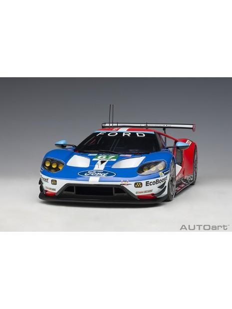 Ford GT Le Mans 2017 Derani/Priaulx/Tincknell n°67 1/18 AUTOart AUTOart - 3