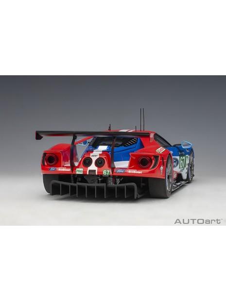 Ford GT Le Mans 2017 Derani/Priaulx/Tincknell n°67 1/18 AUTOart AUTOart - 4