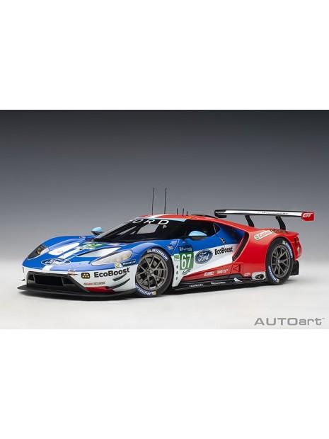 Ford GT Le Mans 2017 Derani/Priaulx/Tincknell n°67 1/18 AUTOart AUTOart - 5