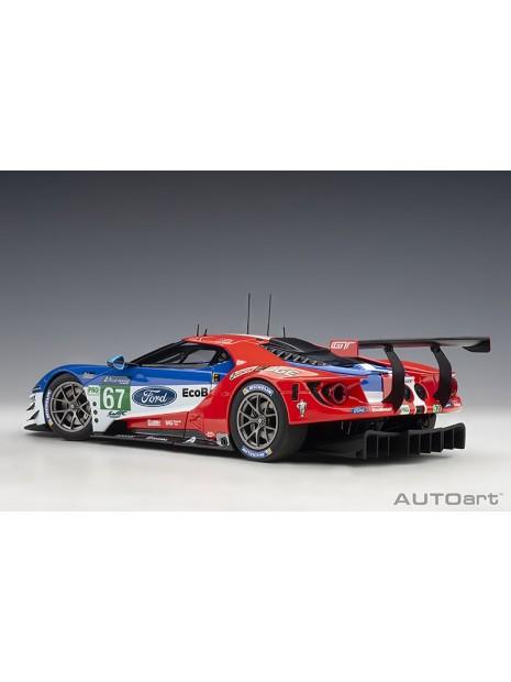 Ford GT Le Mans 2017 Derani/Priaulx/Tincknell n°67 1/18 AUTOart AUTOart - 6