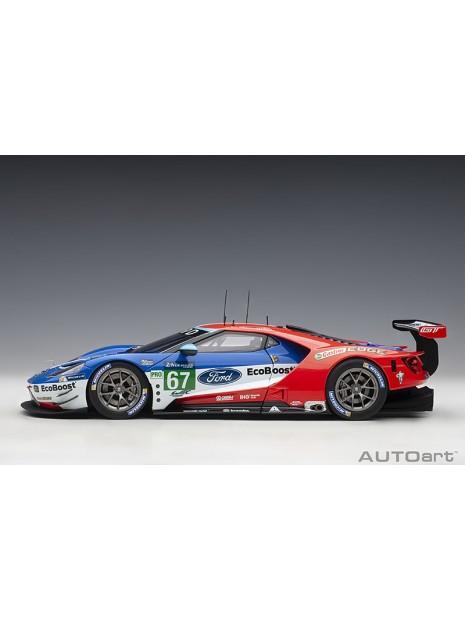 Ford GT Le Mans 2017 Derani/Priaulx/Tincknell n°67 1/18 AUTOart AUTOart - 7