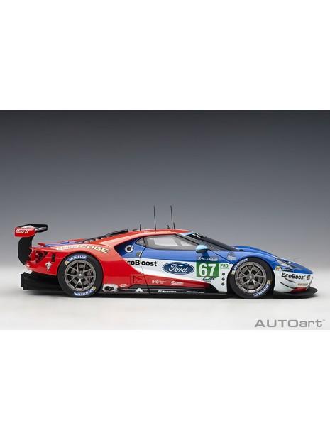Ford GT Le Mans 2017 Derani/Priaulx/Tincknell n°67 1/18 AUTOart AUTOart - 8