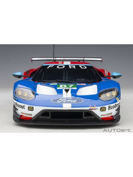 Ford GT Le Mans 2017 Derani/Priaulx/Tincknell n°67 1/18 AUTOart AUTOart - 9