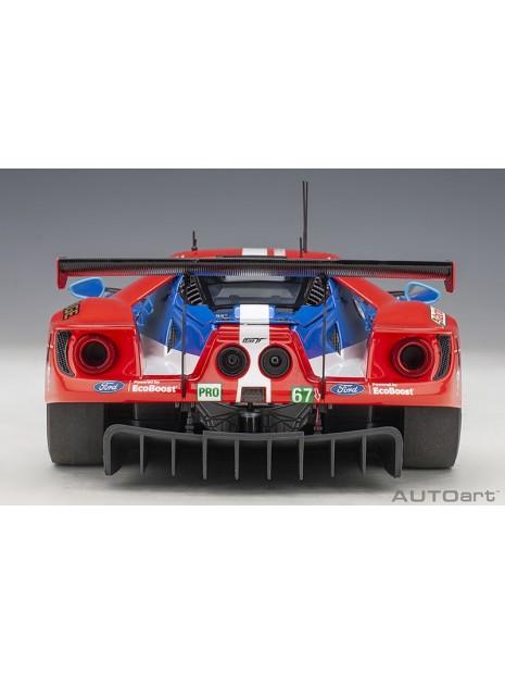 Ford GT Le Mans 2017 Derani/Priaulx/Tincknell n°67 1/18 AUTOart AUTOart - 10