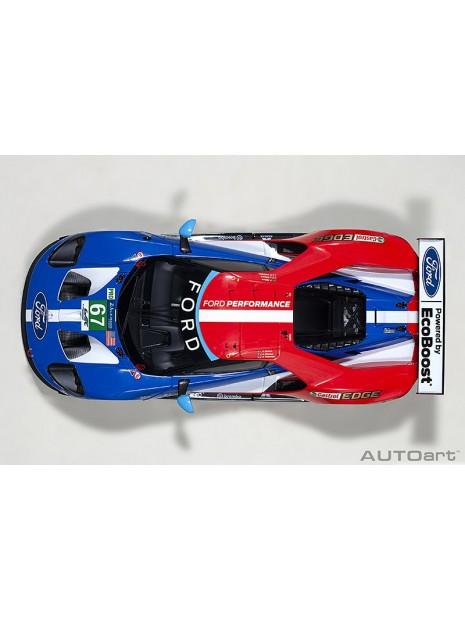 Ford GT Le Mans 2017 Derani/Priaulx/Tincknell n°67 1/18 AUTOart AUTOart - 11