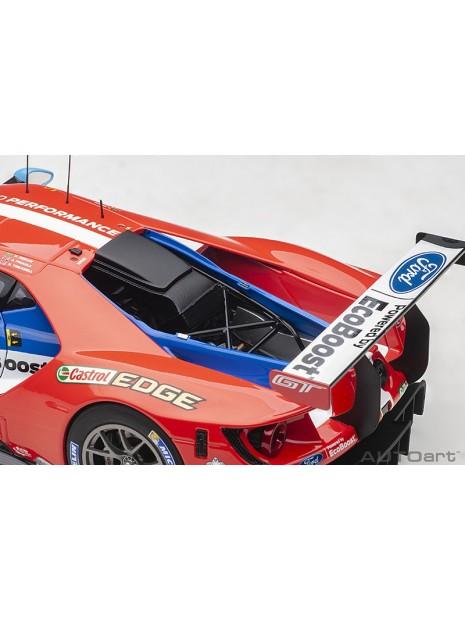 Ford GT Le Mans 2017 Derani/Priaulx/Tincknell n°67 1/18 AUTOart AUTOart - 15