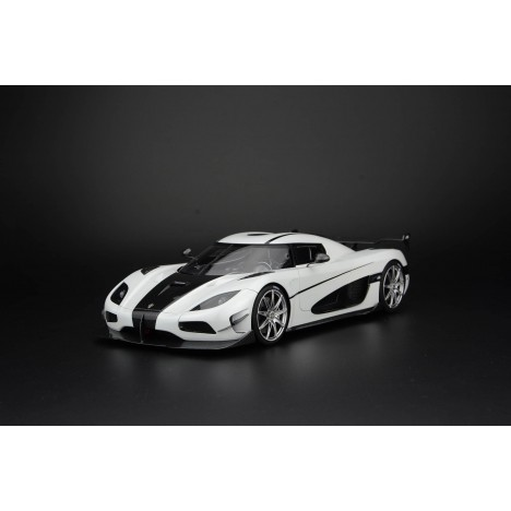 Koenigsegg Agera RS (blanc) 1/18 Frontiart FrontiArt - 1